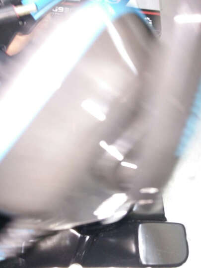 现代(HYUNDAI)台式电脑耳麦头戴式 带麦克风话筒游戏重低音笔记本耳机 黑绿G9300 晒单图