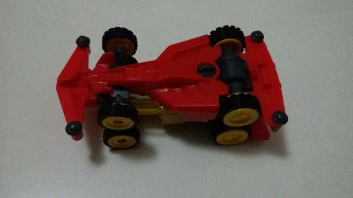 奥迪双钻(AULDEY) 零速争霸超次元四驱车儿童玩具小孩电动车拼装组装轨道套装赛道版 入门-影舞者-内含150毫安电池 晒单图