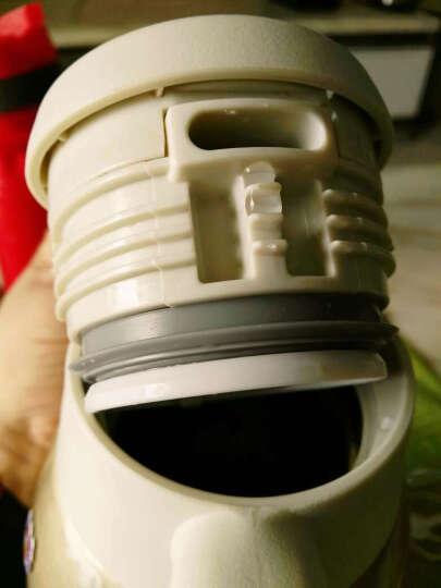 虎牌(TIGER) 保温壶304不锈钢便携按压保温瓶热水瓶PWL-A16C 1.6L 珍珠白XW 晒单图
