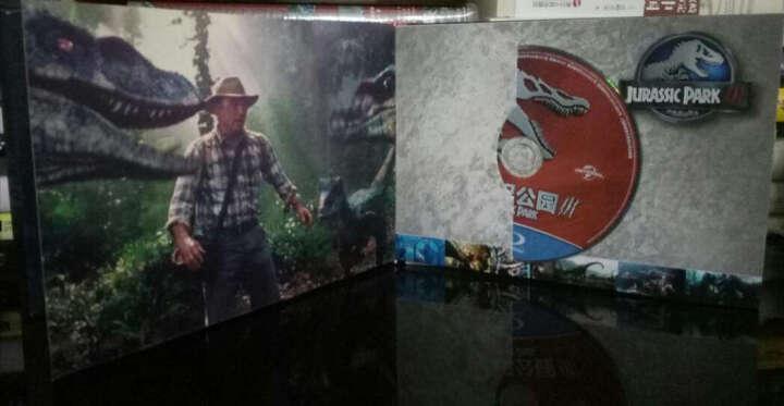 侏罗纪公园四部曲完全纪录电影书(蓝光碟 4BD50)(京东特价专卖) 晒单图