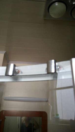 金凯欧 锌合金淋浴房弹跳双轮滑轮配件摇摆轮 沐浴房滑轮 沐浴房配件 一扇门2套 晒单图