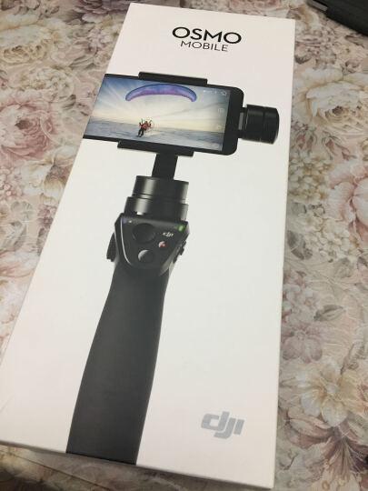 新品大疆DJI OSMO+灵眸一体式智能手持云台相机 全新4K手持稳定器 自拍神器 曼富图流明LED灯 晒单图