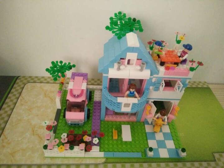 小鲁班 女孩拼插积木世界拼装玩具 粉色梦想套装积木益智玩具3-6-10生日礼物600 台球俱乐部289片 晒单图