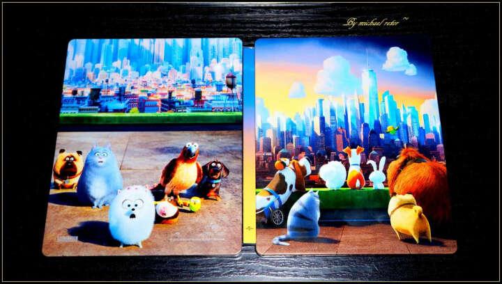爱宠大机密 立体光栅封面 预售版(蓝光碟 3DBD+BD50) 晒单图