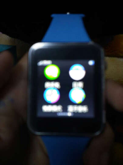 妙弦 【送内存卡】 儿童电话手表智能手表手机插卡通话触屏定位电话手表学生 天空蓝三代学习版(定位+拍照+16G卡) 晒单图