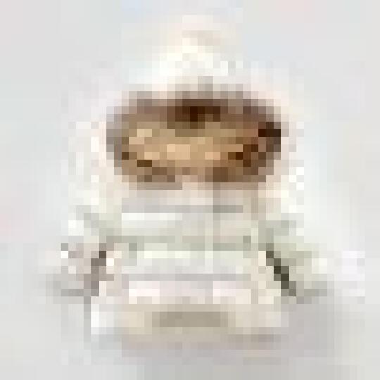 华诺(huanuo) 宝宝羽绒服男女儿童冬季幼小童0-1-2-3岁中长款冬装婴儿衣服外套 米色羽绒服 毛领可拆卸 加厚保暖 140 晒单图