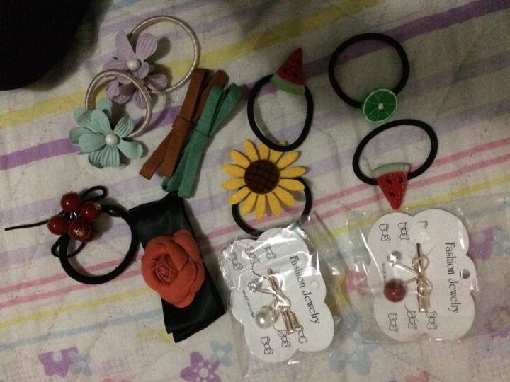 (多款)韩版甜美可爱水果发夹小清新雏菊花朵边夹发卡