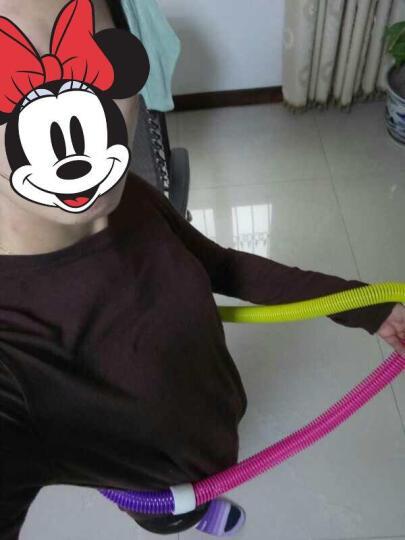 浙睿女士呼啦圈 韩国时尚成人儿童减肥瘦腰弹簧软呼拉圈 中号960克适用60-100斤体重 晒单图