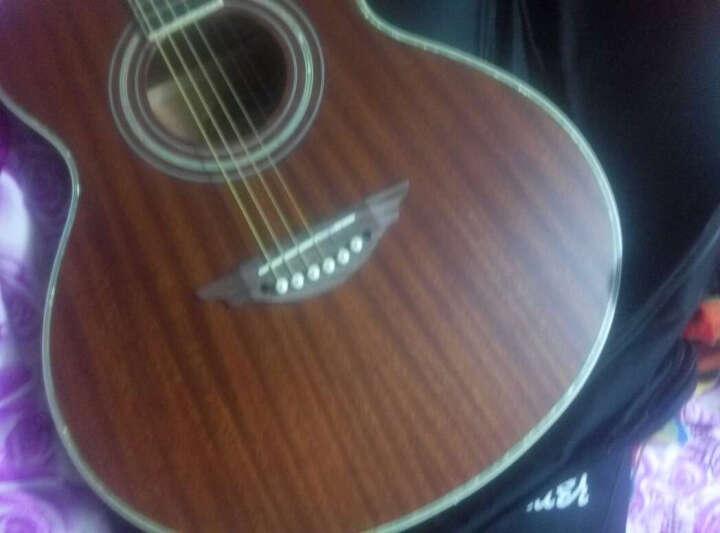卡农(KANONG) 卡农吉他41寸新手初学民谣40寸电箱木吉它 吉他 GK150E电箱款 铜褪色 晒单图
