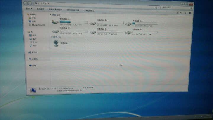 酷睿I5/8G/独显GTX750/SSD四核游戏组装台式电脑主机DIY兼容组装机整机 晒单图