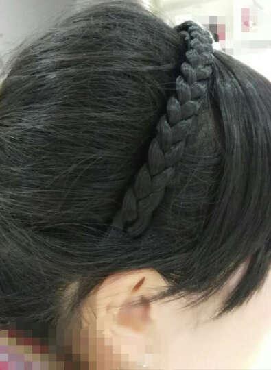 金凯丽(JINKAILI) 假发女短发短卷发真人发丝中老年透气自然蓬松妈妈发套 FFF444斜刘海浅棕色 晒单图