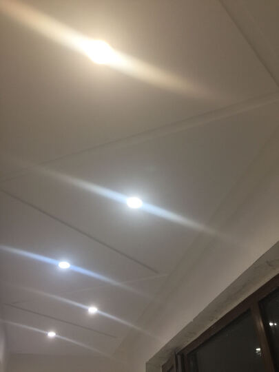飞利浦(PHILIPS) LED筒灯 2.5寸 闪旭 3.5W黄光 12支装 晒单图