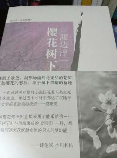 樱花树下(渡边淳一自选集  渡边淳一 文学 书籍 晒单图