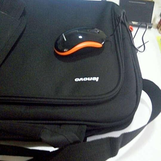 联想笔记本电脑包 原装 笔记本包 单肩包 14英寸 15.6英寸 电脑包 手提包 14英寸包鼠套装 晒单图