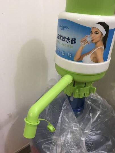 蓝臣(lanchen) 手压式桶装水压水器饮水机 纯净水抽水器 矿泉水吸水抽水泵 白绿色加厚压水器 晒单图