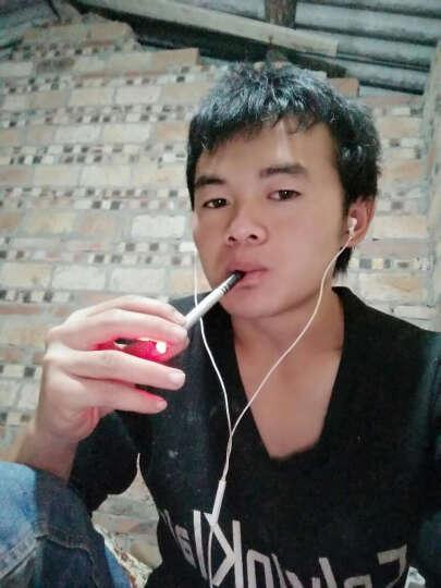 巴索敦极夜电子烟套装 80W智能双控仿真香烟口感大烟雾充电循环使用控烟戒烟产品 极夜红(送烟油5瓶+雾化芯2个) 晒单图