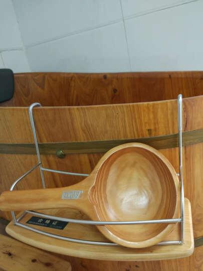 朴易木桶香柏木实木挂件挂篮沐浴桶浴缸用配件方便使用可放洗浴用品搭配木桶更配哦 晒单图