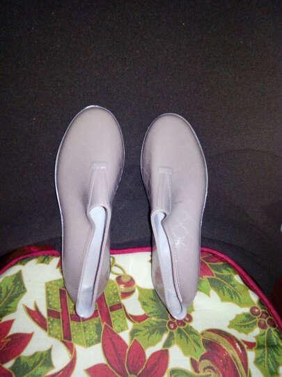 回力雨鞋女雨靴 春季短筒水鞋女士时尚低帮套脚女式厨房防滑防水胶鞋 蓝绿 39 码偏小一码 晒单图