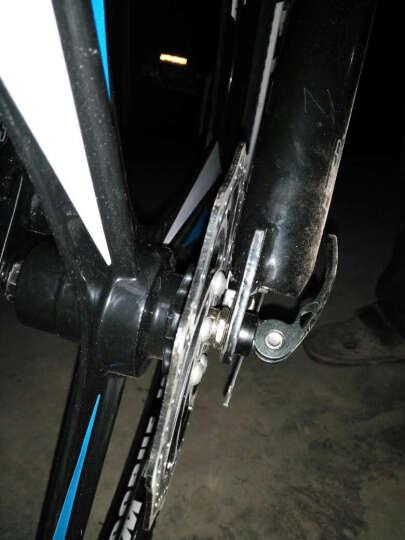 永久(FOREVER) 永久自行车27/30速26寸铝合金朝阳轮胎/变速一体轮山地车660 27速一体轮升级黑红色 晒单图