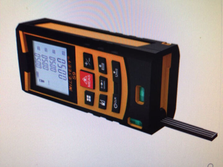 迈测S9 手持式激光测距仪电子尺激光尺水平仪电子测量仪量房仪  双水平气泡 80米蓝色 晒单图