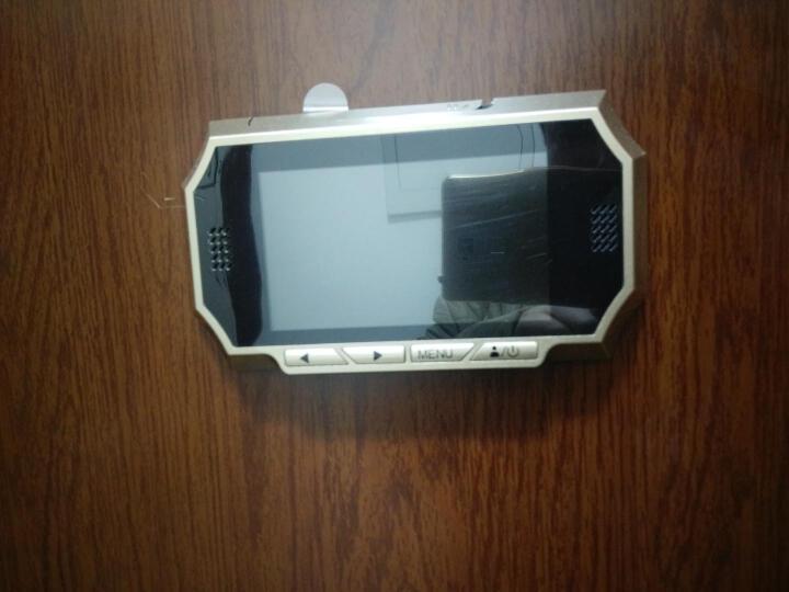 朗瑞特 可视门铃家用智能电子猫眼4.3英寸全高清自动拍照升级款 标配+内存卡 晒单图