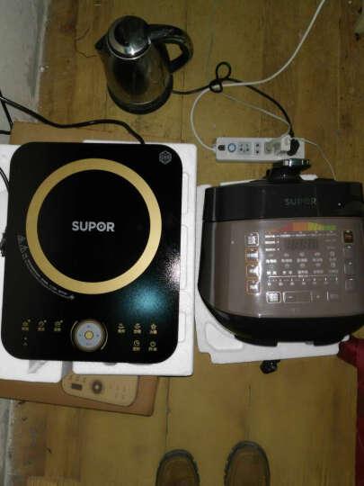 苏泊尔(SUPOR)电磁炉滑控触摸 大圆角设计 十档大火力电磁灶C21-IH02E8(赠汤锅+炒锅) 晒单图