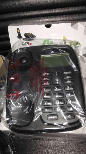 摩托罗拉(Motorola)CL101C数字无绳电话机座机子母机中文显示免提套装办公家用一拖一固定无线座机(黑色) 晒单图