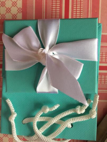 蒂芙尼(Tiffany & Co.)项链 Blue 琺瑯面迷你心形钥匙吊坠项链套装节日情人节 35483853吊坠长约2cm 海外直邮 晒单图