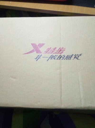 特步(XTEP)板鞋 男运动休闲鞋低帮滑板鞋时尚韩版潮鞋 9503 灰 40 晒单图