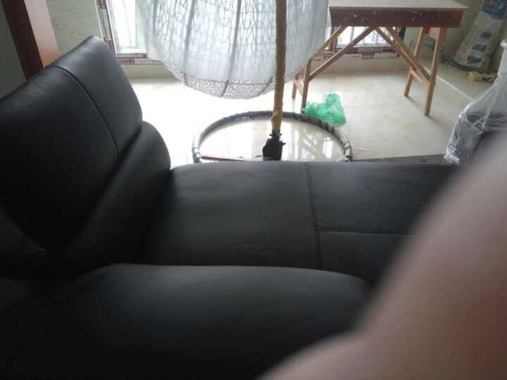 伊甸嘉园 真皮沙发可定制头层黄牛皮大小户型组合皮艺沙发L转角客厅简约后现代组合 2+贵妃(纳帕皮) 晒单图