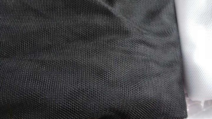 软网纱布料蚊帐纱布料批发服装纱裙面料加密蕾丝网眼纱网纱布料 23号烟灰(5米价) 晒单图