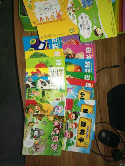 MPR 儿童点读笔英语跟读点读机幼儿启蒙英语早教机0-1-3-6岁学习机故事机益智玩具 0-6岁成长开发+52册书-绿色 8G内存 晒单图