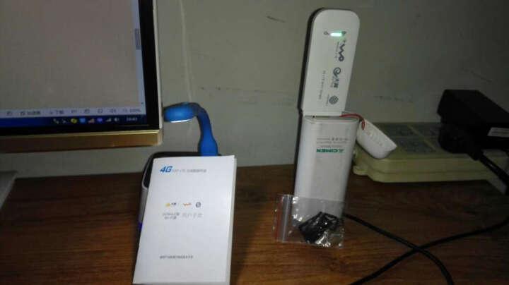 极行速联通电信移动4G无线上网卡托4g无线路由器车载随身wifi无线上网终端设备WiFi猫 全网通4G/3GWiFi版 晒单图