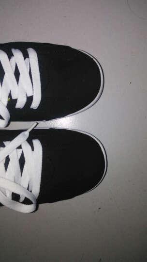 秋季男鞋子运动鞋男士休闲鞋韩版阿甘板鞋跑步鞋板鞋透气垫鞋N95 1606白黑 42 晒单图