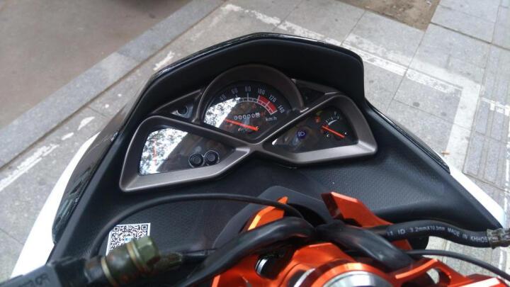 鹰仕莱(S-MAX)鸿图电喷摩托车踏板车电喷专用V6发动机省油好启动可改装经济时尚 黑色 电喷摩托车 晒单图