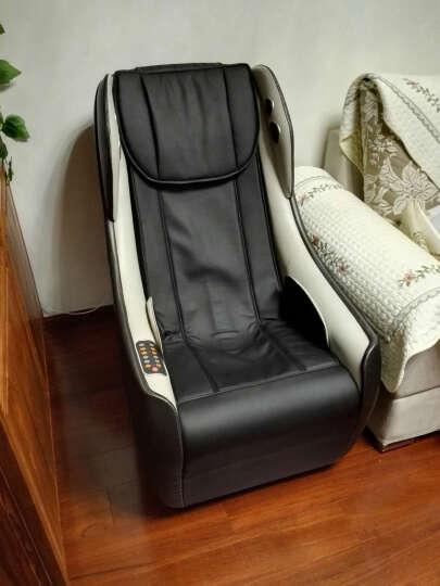 久工(LITEC)按摩椅家用小型 电动智能蓝牙音乐沙发日式全自动多功能SL导轨办公按摩椅 白色 晒单图