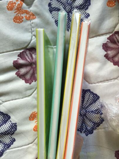 18色彩虹夹心 三层夹心雕刻橡皮 15*10*0.8cm 橡皮章彩色橡皮砖 白红 晒单图