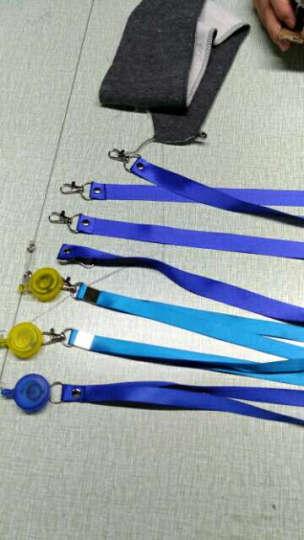 威禹(WY) 1.5cm平纹胸卡吊绳 证件挂绳 厂牌展会绳 卡套挂绳提供定制logo印刷 浅绿色 晒单图