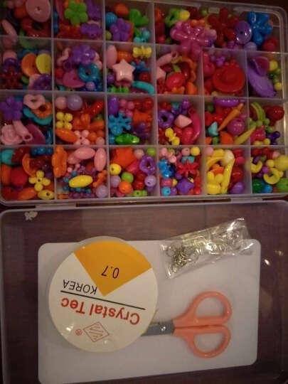 儿童串珠 DIY手工串珠手链项链 女孩男孩玩具 串珠子手工制作 新款24格月光宝盒 晒单图
