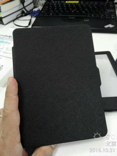 你的贝包 kindle保护套958亚马逊paperwhite3电子书阅读器外壳 头层牛皮-幻夜黑 晒单图
