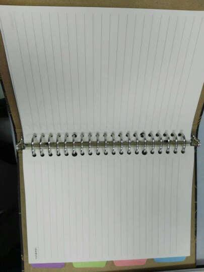 道林活页纸记事本活页替芯A5/20孔 B5/26孔 A4/30孔活页笔记本子内页芯 学生手账活页芯 A5-20孔-空白 晒单图