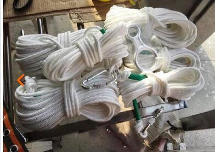 泰东安 户外登山绳攀岩绳缓降器救生绳非逃生专用绳 40米 晒单图