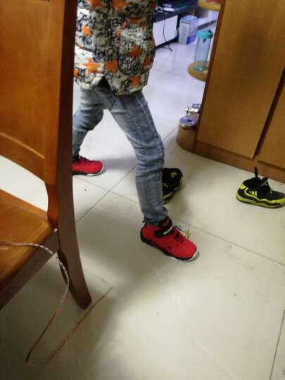大黄蜂 BIG WASP 儿童篮球鞋 学生休闲鞋男童运动鞋6-14岁 156318968 黑色-33码 晒单图