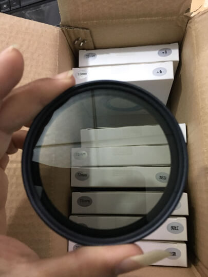 缔造者超薄圆形CPL偏振镜偏光镜滤镜49/52/55/58/67/77mm单反滤镜 86mm 晒单图