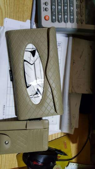 搜酷 汽车车上用品超市 车用纸巾盒挂式 车载抽纸盒 遮阳板天窗创意内饰 功能小件配件 白色卡装纸巾盒 椭 晒单图