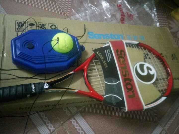 圣斯顿Senston网球拍 初学男女碳素一体网拍 V75红色版 晒单图