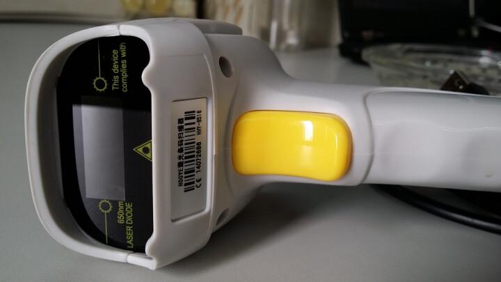 豪艺(HOOYE) 有线扫描枪 无线扫描枪 一维 二维条码枪 系列 USB接口 新款 8180单激光感应一维二维平台 晒单图