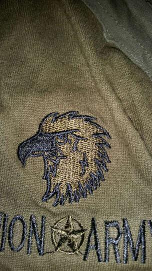 同盟军(UNION ARMY) 同盟军 军装特种部队海豹突击队T恤 男士户外军迷长袖t恤 黑色 L 晒单图