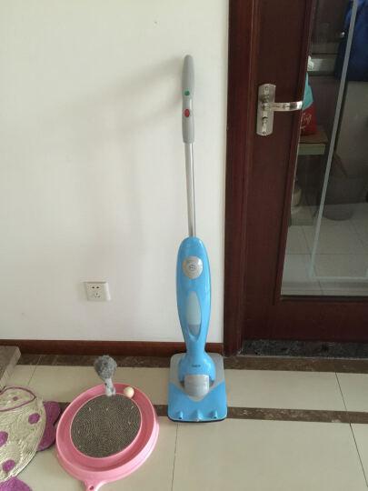 【羽泉推荐!无线手持擦地机】洒哇地咔 电动拖把家用拖地机 地板清洁机 洗地机 浅白色 晒单图