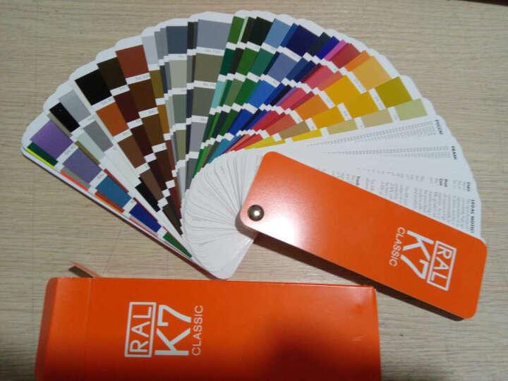 2018年版本德国劳尔版本((独立外盒全新)德国RAL劳尔色卡K7-油漆涂料色卡 晒单图